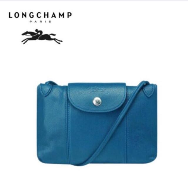 Longchamp 小羊皮 小包
