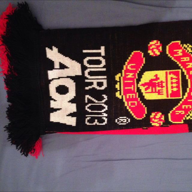 Manchester United Sydney Tour Official Scarf