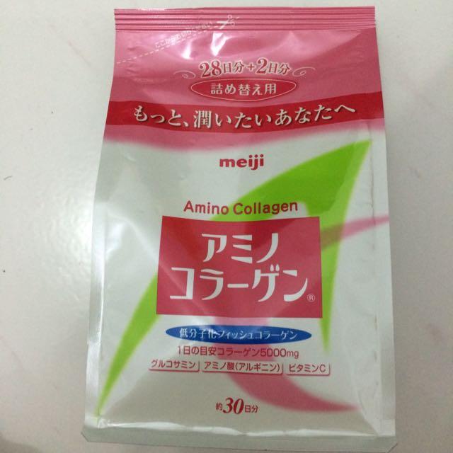 MEIJI Amino Collagen Pink