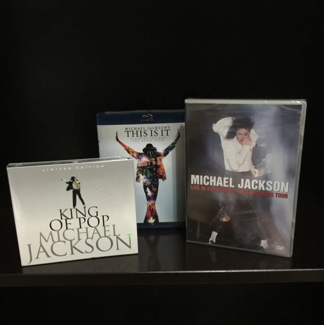 Michael Jackson Limited Edition BD+DVD+CD