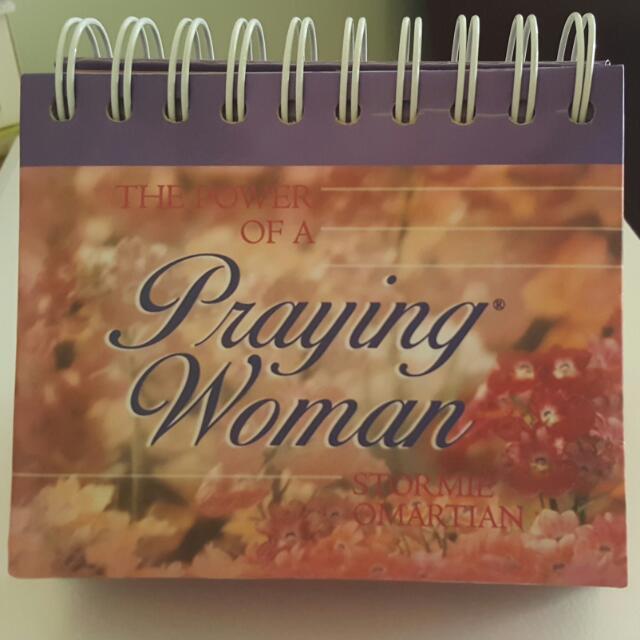 Motivational Calendar - Power Of A Praying Women