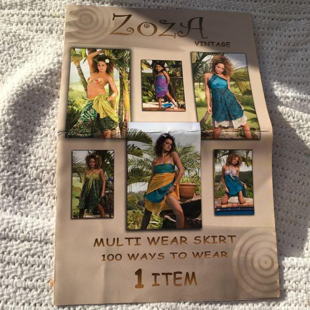 Multi Wear Dress/skirt