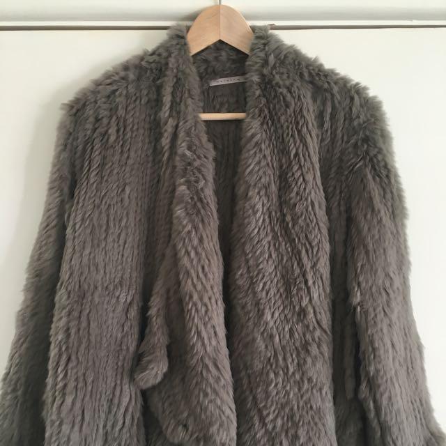 Natasha Rabbit Fur Jacket