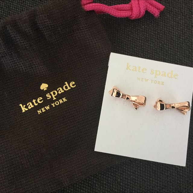 NEW Kate Spade Rose Gold Earrings