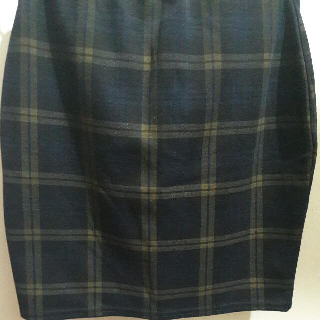 Newlook Tartan Skirt