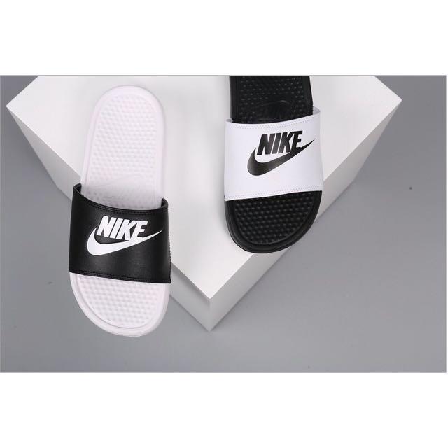 Nike 拖鞋 陰陽款 正品公司貨