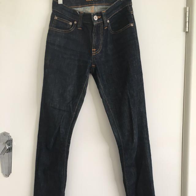 Nudie Dark Denim Jeans