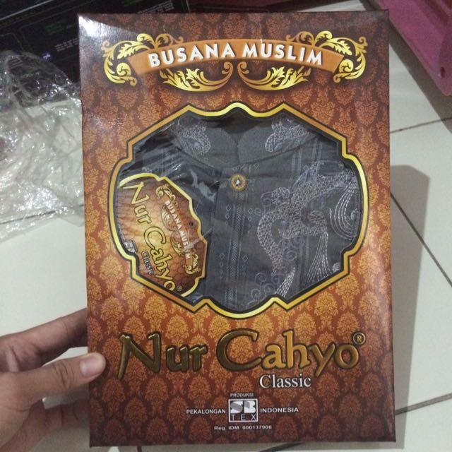 Nur Cahyo Busana Muslim Baju Koko, Men's Fashion, Men's Clothes on Carousell