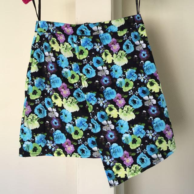 PaperHeart Floral Skirt