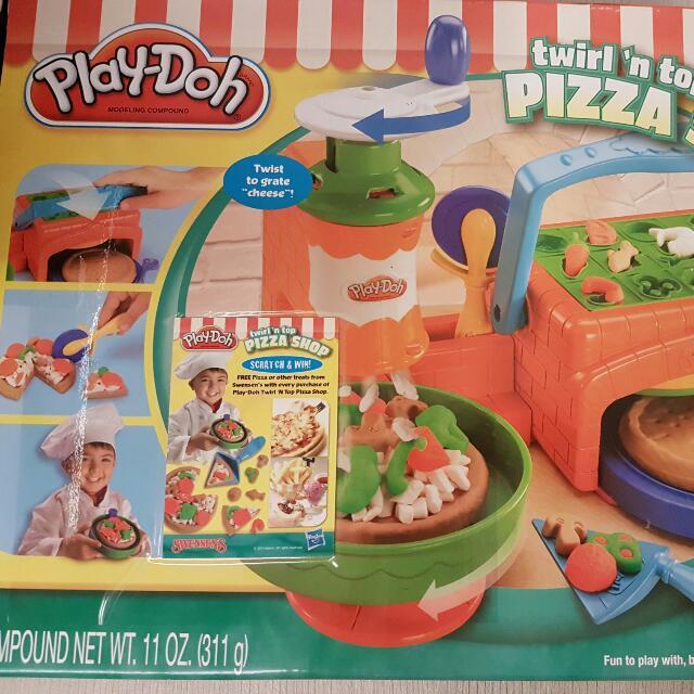 Pizza Play Doh Set