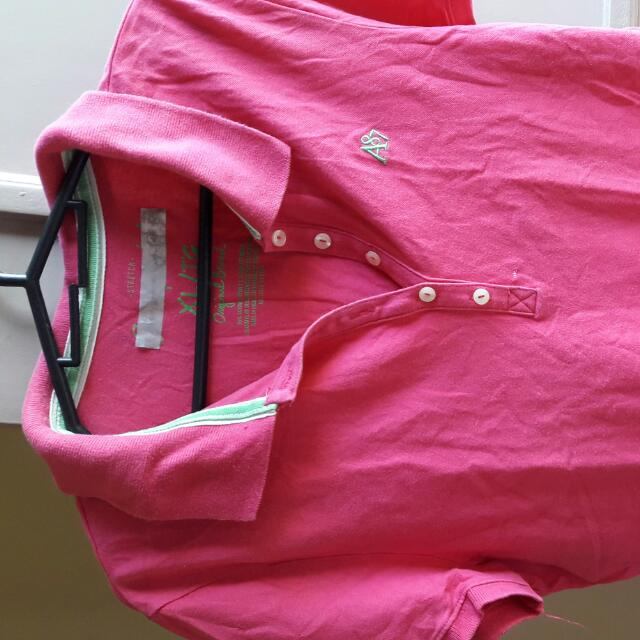 Pre-loved Pink Polo Shirt