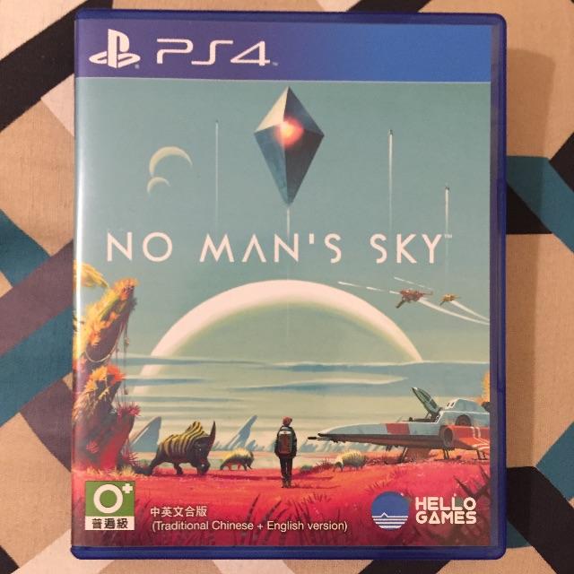 PS4 二手遊戲【No man's sky:無人星空】