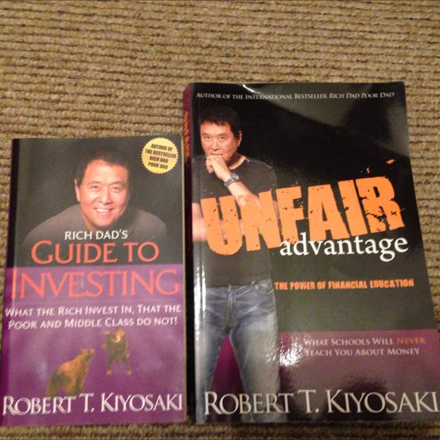 Rich Dad Guide To Investing Unfair Advantage Books