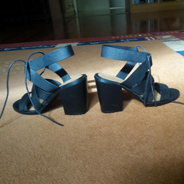 Rubi Jackson Lace Up Heels Size 39