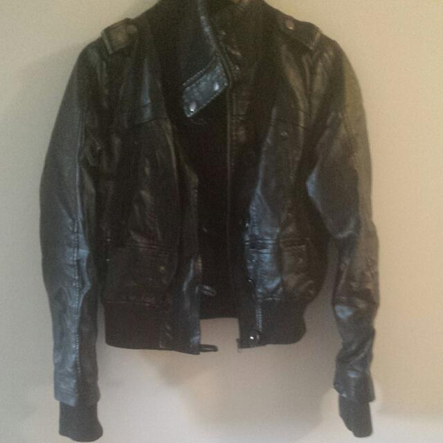 Seductions Leather Jacket