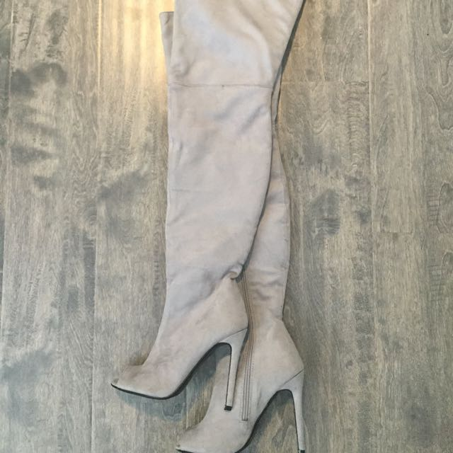 Size 5 Over The Knee Boots