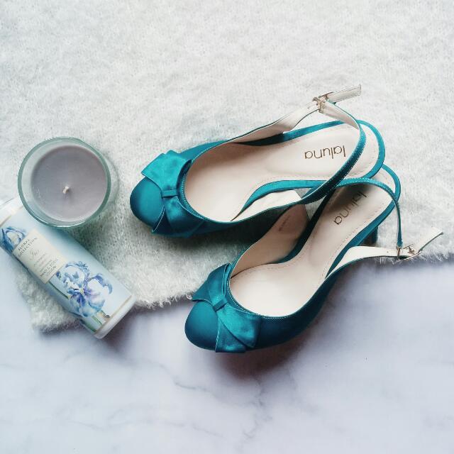 Sling Back Turquoise LALUNA