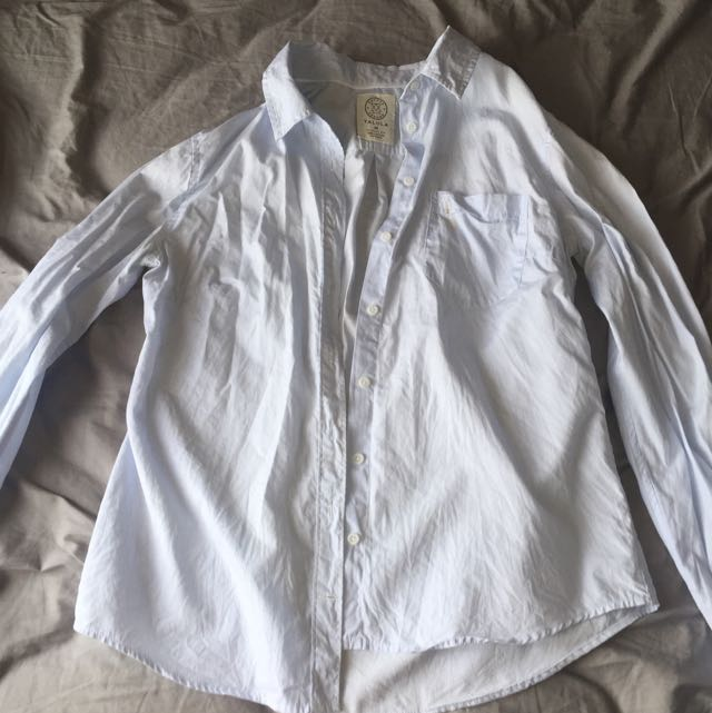 Talula Medium Oxford Dress Shirt From Aritzia