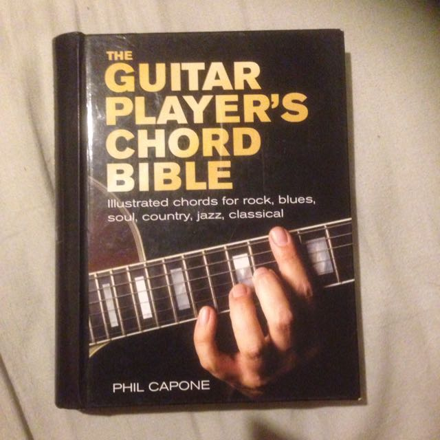 The guitar Players Chord Bible
