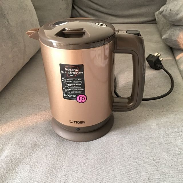 Tiger Easy To Clean, Quiet Boil Kettle 1 0L