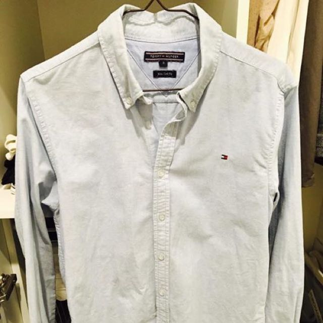 Tommy Hilfiger Oxford Blue Shirt SIze s