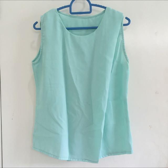 Turquoise Top