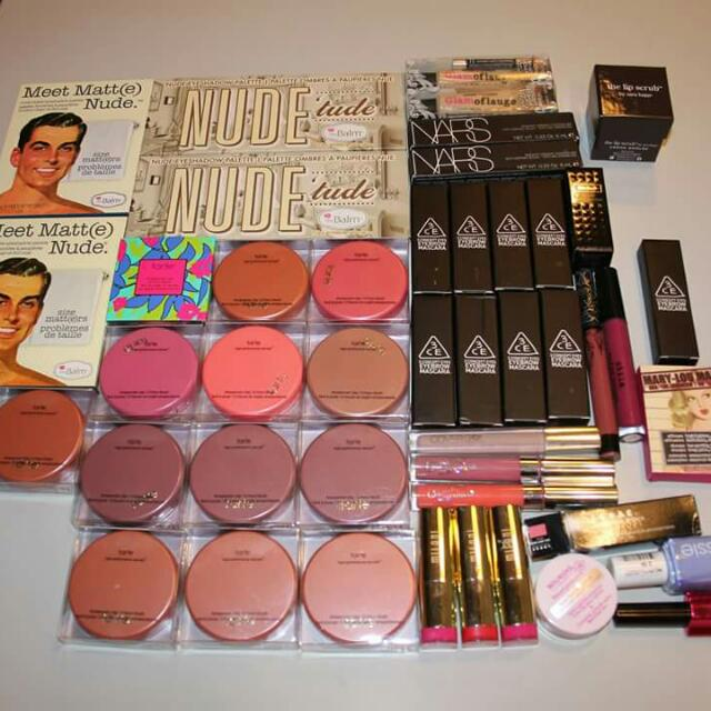 Variety Of Makeup