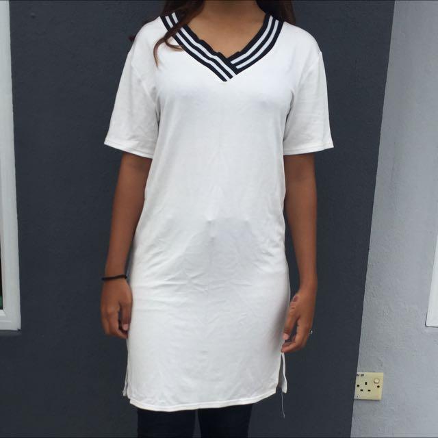 White Long Shirt