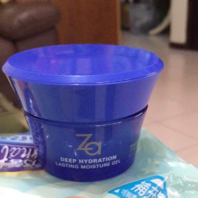ZA深層保濕水凝霜50g