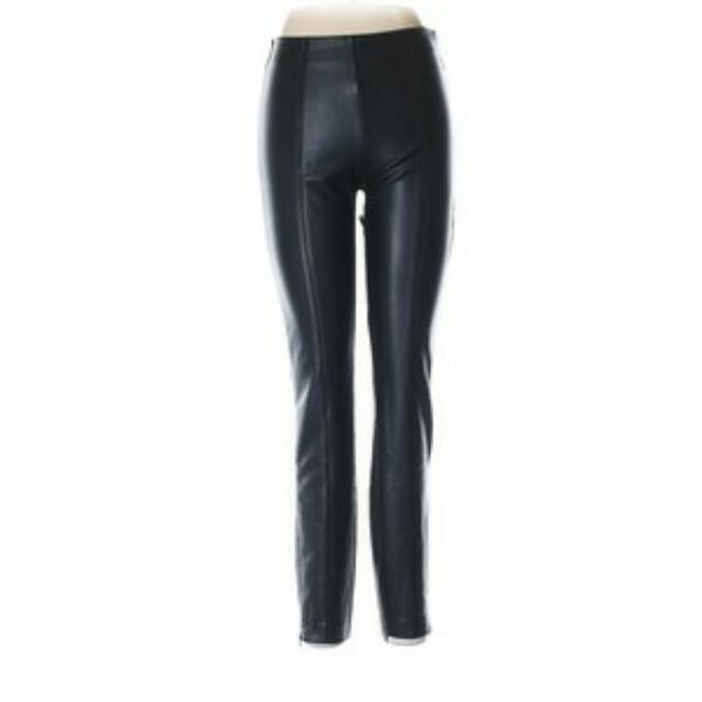 New Zara Faux Leather Pants