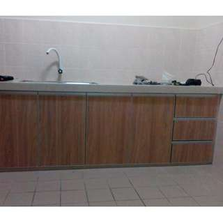 Kitchen Cabinet melamine pintu swing