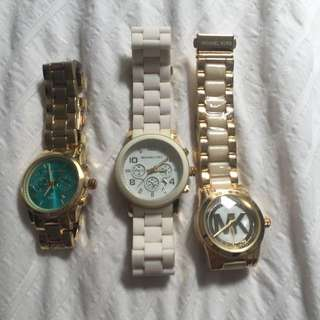 Non-authentic Michael Kors Watches