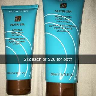 Hand Scrub And Balm