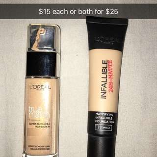 Loreal Foundations