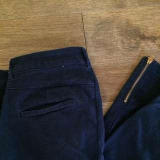 Smart Set Skinny Navy Trousers Sz 4