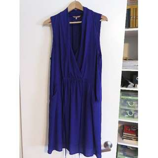RW&Co Cocktail Dress, Purple, XL