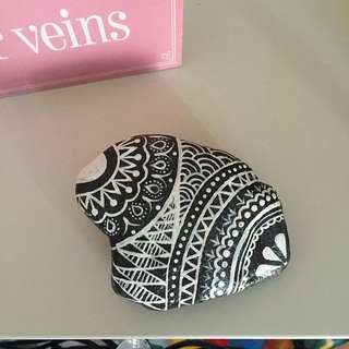 Henna Painted Rock