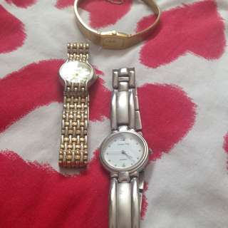 3 x Women's Watches