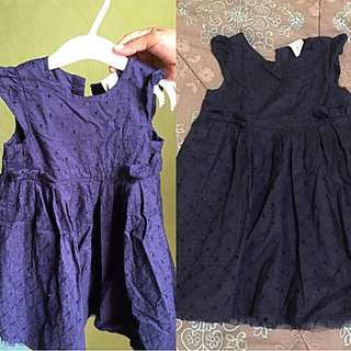 H&M dress 12-18 mos can fit up to 24 mos