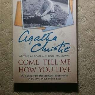 For Fan Of Agatha Christie
