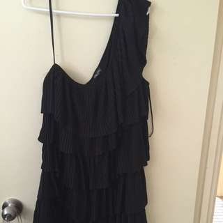 City Chic One Shoulder Top