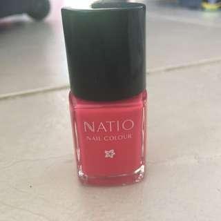 Natio Pink Nail Polish