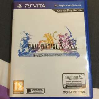 Ps Vita Final Fantasy X|X-2 HD Remaster