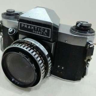 Camera vintage Praktika Super TL (body & lens)