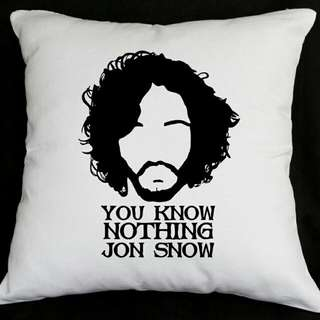 GoT Jon Snow Throw Pillow