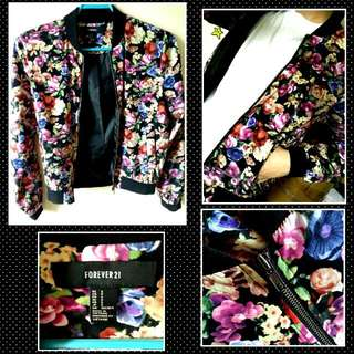 Original Forever 21 Floral Jacket SMALL