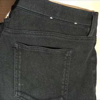 Uniqlo Black Jegging Jeans Size M
