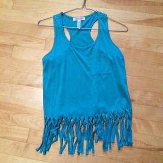 Knit Blue Shirt