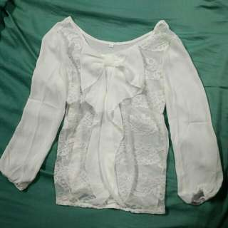 Bow Tie Shirt Size: M