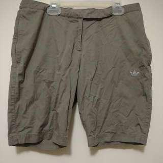 Medium Olive Green Adidas Shorts